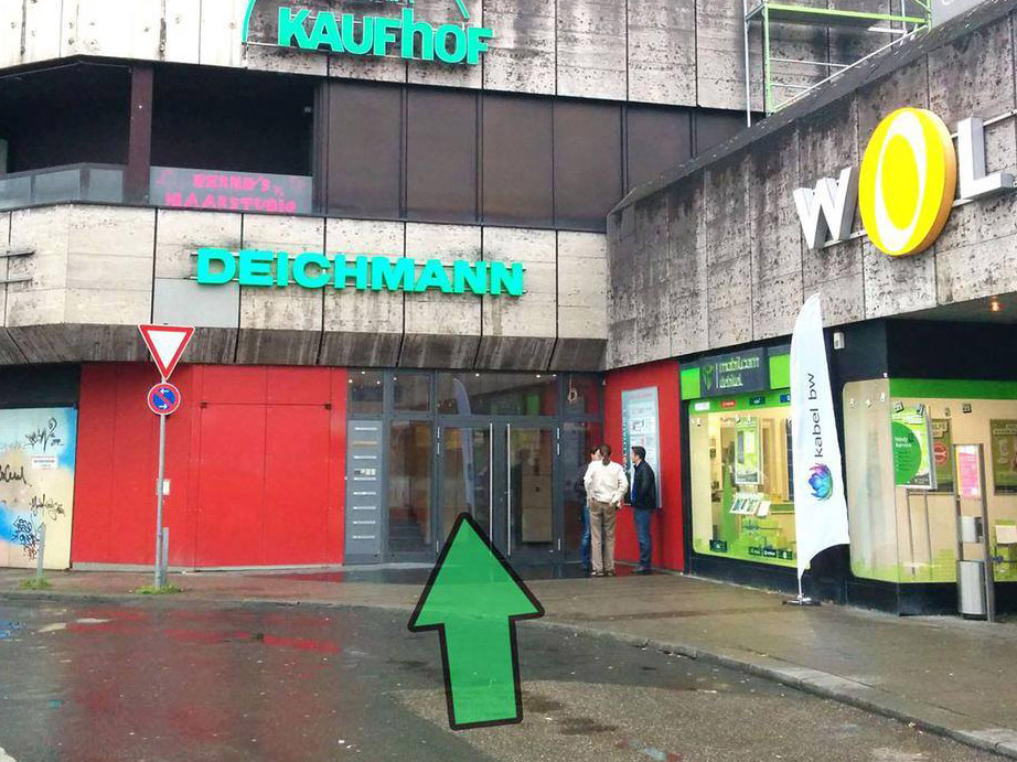 Eingang Coworking-Space Heilbronn